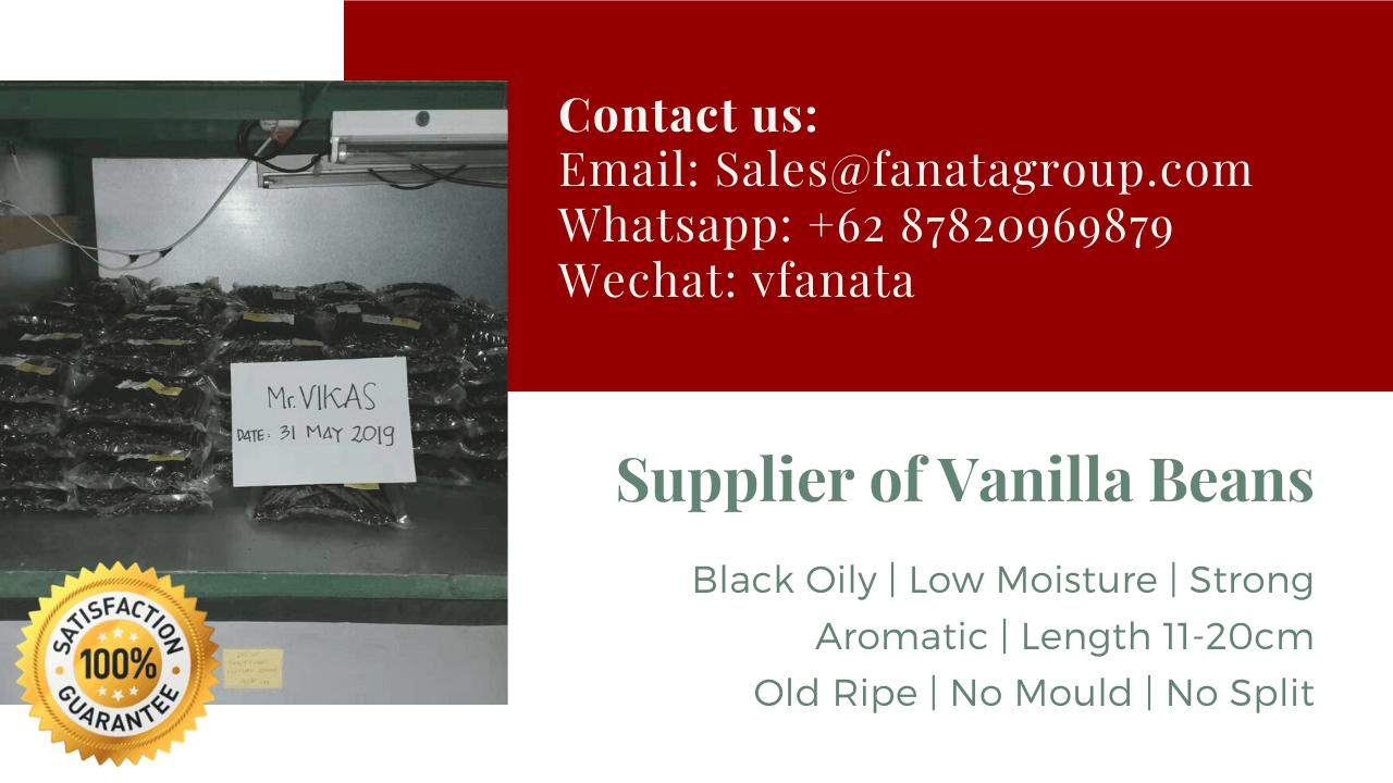 Vanilli vanilla beans type species price supplier india madagascar